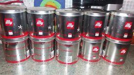 Illy IPERESPRESSO coffee capsules 10 tins 20 capsules per tin