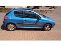 Peugeot 206 for sale 600 pounds