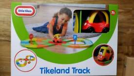 Toys Little Tikes Tikeland Track with Crazy Coupe Car BNIB