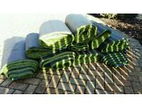 BRAND NEW rolls of artificial grass / astro turf / fake grass