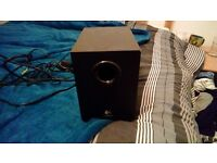 Logitech speakers and sub as new condition compatible with PC