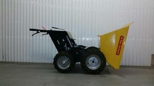 HONDA WHEEL BARROW AUTOMATIC MUCK TRUCK + 500 POUND 1/4 TON CAPACITY + 1 YEAR WARRANTY + FREE SHIPPING ONTARIO WIDE !!!!