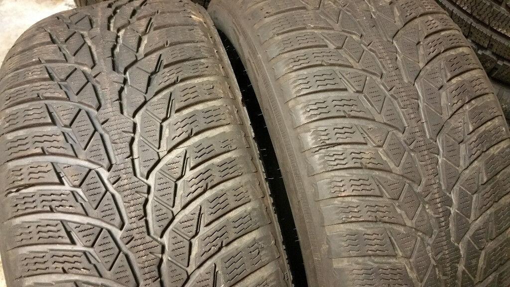 225 50 17 2 x tyres Nankang WR D4 M+S