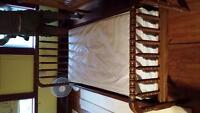 old wooden bed for sale