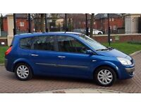 2006 Renault GRAND SCENIC 7 seater ,long mot, drives perfect