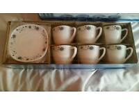 6pc cup set