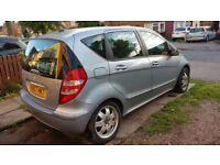 MERCEDES A180 CDI 2007 BLUE LADY DOCTOR OWNER LOW MILES FULL SERVICE HISTORY DAMAGE TO REAR WHEEL