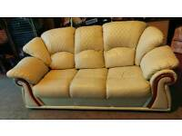 Cream sofa ,very nice