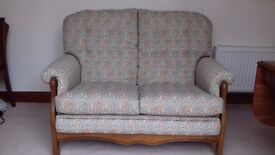 Parker Knoll Chair & Settee as new condition ( cost new 1,800)