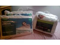 Brand New - double duvet & 4 x pillows
