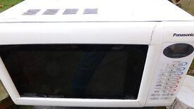Panasonic combination microwave with faulty door.