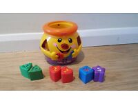 Fisher price sort out tea pot