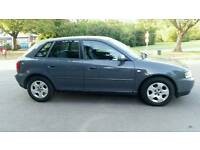 03+AUDI A3 1.6cc SE+TIMMING BELT CHANGED+FULL SERVICE HISTORY+HPI CLEAR+GREY+CLIMATE CONTROL+AIRCON+