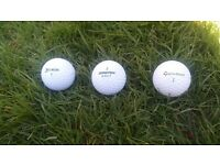 100 New and Used Golf Balls