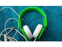 Beats By Dre Mixr - Green - With case - Mint Condition!