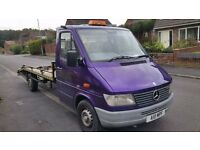 MERCEDES SPRINTER 310D RECOVERY TRUCK CAR TRANSPORTER