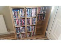 Dvd storage unit