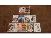 15 VHS Video Films - Popular Titles, Great Movies