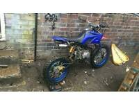 Big wheeled pitbike 125cc stomp