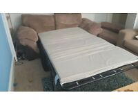 3-seater sofa bed, £40