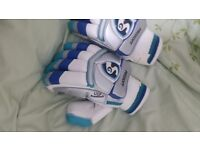 Brand New SG Youth Prosoft Batting Cricket Gloves and MB Lala Edition Gloves