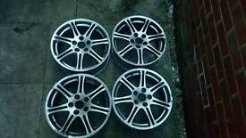 """Honda civic type r ep3 ep2 orginal 17"""" enkei alloys"""