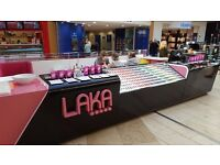 MUST GO ON THURSDAY - Nail Bar Kiosk in Bluewater - Bespoke - REDUCED TO ONLY £2,000 ONO