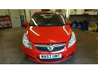 2007 (57 plate) Vauxhall Corsa 1.0 life. IDEAL FIRST CAR