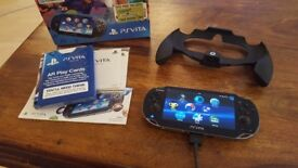 PS Vita with 16gb memory card
