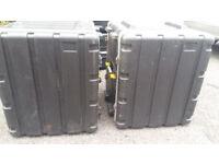 10u and 12u Abs flight cases