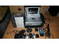 Playstation 2 with screen