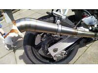 Dan Moto pro race exhaust