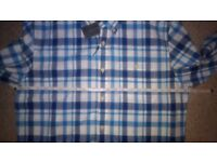 Mens Tommy Hilfiger Check Shirt Size Large