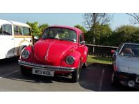 Classic Volkswagen Beetle for sale with many new parts