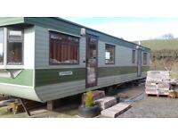 Atlas Static 2 bedroom Caravan/Mobile Home