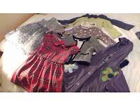 Next girls clothes bundle age 3-4