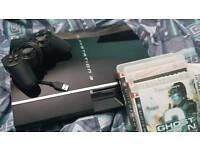 PS3 60G BACKWARDS COMPATIBlE