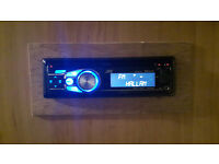 JVC KD-R711 BLUETOOTH CD MP3 Radio Tuner Reciever Front Aux Input Remote Control