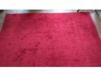 Large Red John Lewis Wool Rug