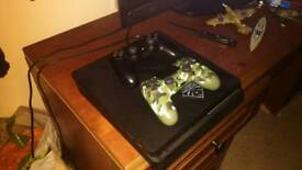 Playstation 4 with 2 controllers gta 5 tropicco 5 ratchet and clank the withcher 3