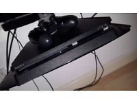 Ps4 Slim 1tb + Wireless Stereo Headset + Games