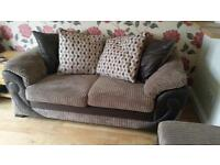 DFS 'Illusion' sofa. Top of the range. Excellent condition