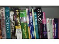 Academic books, Psychology, Sociology, Politics, Philosophy.