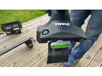 Thule car roof bars and fittings