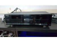 Kenwood KXW4010 Cassette Deck Tape Player