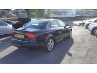AUDI A4 S LINE TDI 140 6 SPEED GEARBOX 12 MONTHS MOT TOP CONDITION NATIOWIDE WARRANTY IS AVAILABLE