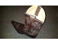 Grinders Carolina Western Boots (Size 42 UK8 )