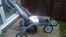 Special needs pushchair