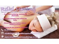 RELAXING REIKI TREATMENTS