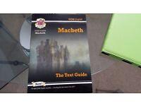 CGP English Macbeth revision guide